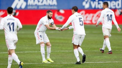 Huesca vs Real Madrid 1-2 Liga Española 2020-2021