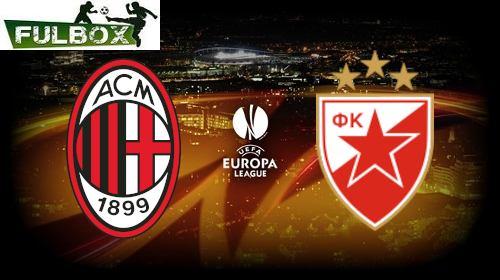 Milán vs Estrella Roja