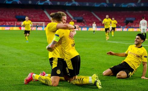 Sevilla vs Borussia Dortmund 2-3 Octavos de Final Champions League 2020-21