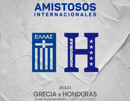 Honduras vs Grecia