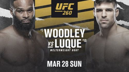 Tyron Woodley vs Vicente Luque