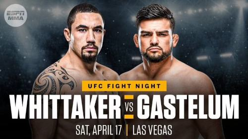 Robert Whittaker vs Kelvin Gastelum