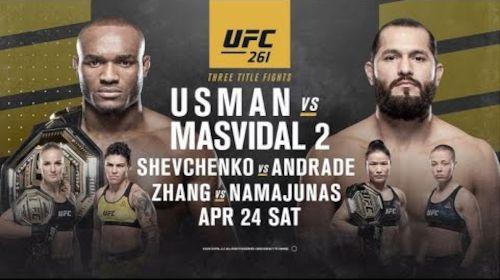UFC 261 EN VIVO – Cartelera, Fecha, Horario, Canal TV, Internet PPV ¿Dónde ver Usman vs Masvidal 2 en Directo?