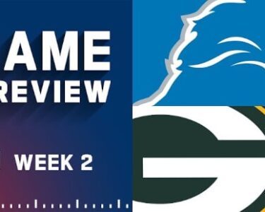 Green Bay Packers vs Detroit Lions